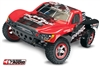 Traxxas Slash 2wd RTR SC Truck With On-Board Audio And Red Body