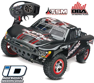 Traxxas Slash VXL 2wd SC Truck with Mike Jenkins #47 Body, TSM, OBA
