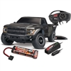 Traxxas 2017 Ford Raptor F150 RTR Truck with TQi 2.4GHz Radio, Black