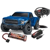 Traxxas Ford Raptor F150 RTR Truck with TQi 2.4GHz Radio, Blue