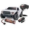 Traxxas Ford Raptor F150 RTR Truck with TQi 2.4GHz Radio, White