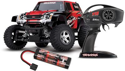 Traxxas Telluride 4x4 Extreme Terrain 4wd RTR Truck-Red Body