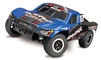 Traxxas Slash 4x4 Short Course RTR Truck with TSM and Blue Traxxas Body