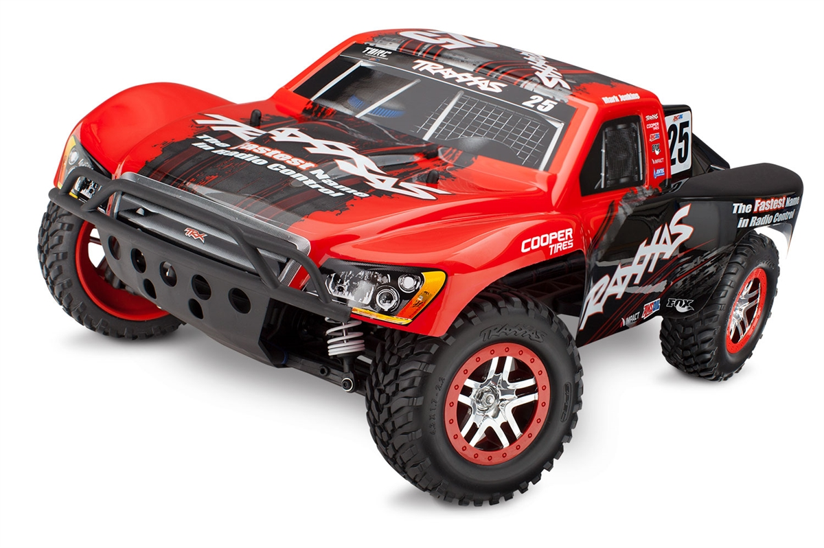 BLACK TRAXXAS STAMPEDE RED WHITE BODY XL-5 VXL 4X4  BRUSHLESS 2WD VELINEON