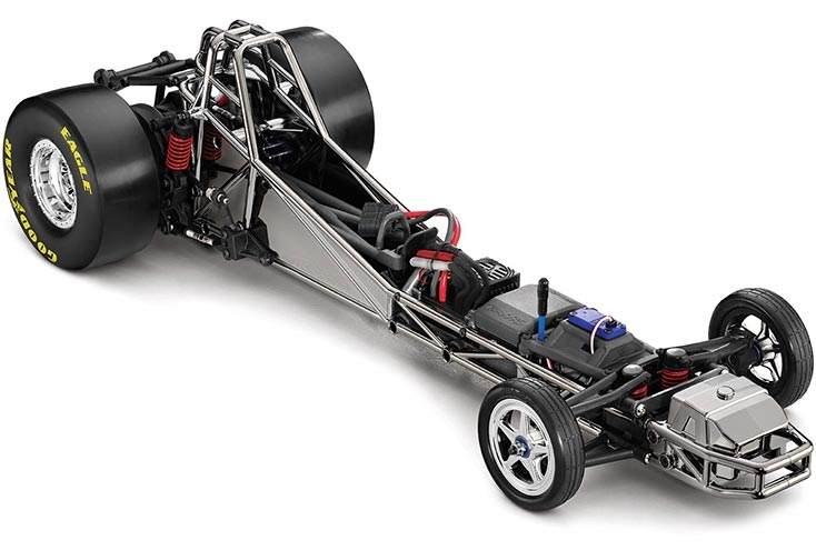 Look Here Sealed Estes Rocket Powered Racer Funny Car W Digital Sdometer 291575514