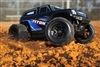LaTrax 1/18th Teton 4wd RTR Monster Truck with blue body
