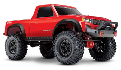 Traxxas TRX-4 Sport RTR with Red Body