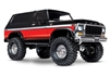 Traxxas TRX-4 1979 Ford Bronco 4wd Electric with Painted Red Body