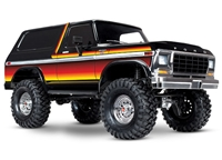 Traxxas TRX-4 1979 Ford Bronco 4wd Electric with Painted Sunset Body