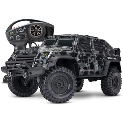 Traxxas TRX-4 Tactical Unit 1/10th RTR with Night Camo body