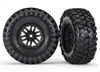 "Traxxas TRX-4 1.9"" Canyon Tires on 1.9"" TRX-4 Rims (2)"