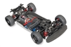 Traxxas 4-Tec 2.0 XL-5 AWD Chassis with TQ 2.4GHz Radio and no body