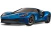 Traxxas 4-Tec 2.0 Ford GT AWD XL-5 Supercar with blue body