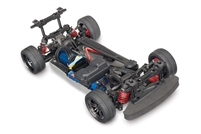 Traxxas 4-Tec 2.0 VXL AWD Chassis with TQi 2.4GHz Radio and no body