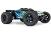 Traxxas E-Revo 2.0 VXL 4wd Brushless RTR Truck with green body