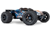 Traxxas E-Revo 2.0 VXL 4wd Brushless RTR Truck with orange body