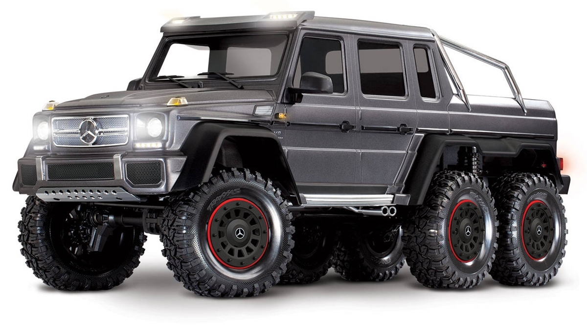 Traxxas Trx 6 Mercedes Benz G 63 6x6 Rtr Truck With Silver Body