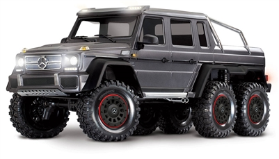Traxxas TRX-6 Mercedes Benz G 63 6x6 RTR Truck with Silver Body