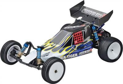 Thunder Tiger Phoenix Xb RTR 2wd Brushless 1/10th Buggy-Blue/Yellow Body