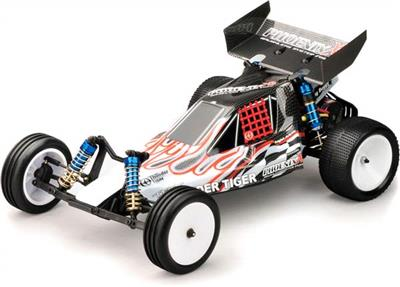 Thunder Tiger Phoenix Xb RTR 2wd Brushless 1/10th Buggy-White/Red Body