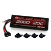 Venom 2000mAh 20C 7.4V Lipo Battery Pack for 1/16th Traxxas or other