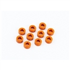 Xray T4/T3/T2/XT2 Shims, 3 x 6 x 3.0mm, orange aluminum (10)