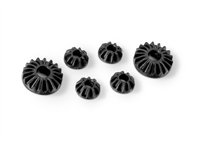 Xray T4/T3/XB4/XT2 Graphite Gear Diff Bevel and Satellite Gears (2+4)