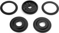 Xray T2'008 38T Ball Diff Pulley With Labrynth Covers
