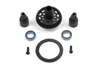 Xray T4/T3/T2 Composite Solid Axle Set with 38 tooth Pulley
