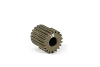 Xray Narrow Pinion Gear - hard coated aluminum - 64 pitch, 19 tooth