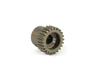 Xray Narrow Pinion Gear - hard coated aluminum - 64 pitch, 23 tooth