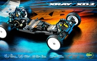 Xray XB2C 2021 Carpet Edition 2wd Car Kit