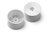 Xray XB2/XB4 Rear V2 Aerodisk Rims with 12mm Hex, white (2)