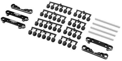 Xray XB8 Aluminum Iss Suspension Holder Set