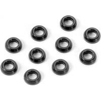 Xray XB4/XT2 Conical Shims 3 x 6 x 2mm, black aluminum (10)