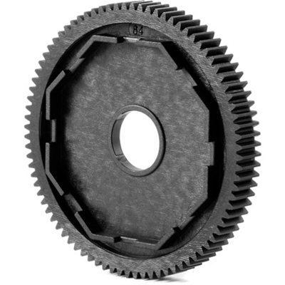 Xray XB4/XT2 84 tooth, 48 pitch Spur Gear for 3-pad Slipper