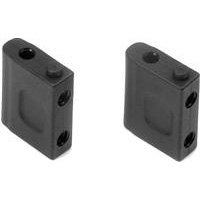 Xray XB4 Servo Mounts, composite (2)