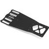 Xray X10 Chassis Plate, 2.5mm graphite
