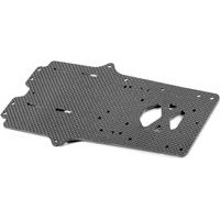 Xray X12 2015 Main Chassis Plate, 2.5mm graphite