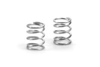 Xray XII Front Springs, C=2.0, Soft Silver (2)