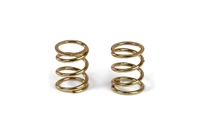 Xray X12/X1 Front Springs, C=3.5, gold (2)