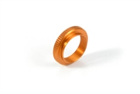 Xray X12 Adjustable Nut, orange aluminum (1)