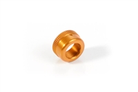 Xray X12 Upper Shock Cap, orange aluminum (1)