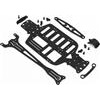 Xray M18 Pro Graphite Chassis And Top Deck Set, Black