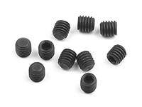 Xray XB9/XT2 Hex Set Screws SB, 3 x 3mm (10)