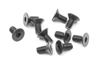Xray Hex Screws SFH, 3 x 6mm (10)
