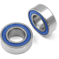 Xray Rubber Sealed Ball Bearings, 5mm x 9mm (2)
