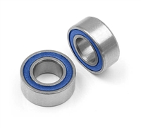 Xray Ball Bearings, 5mm x 10mm (2) Rubber Sealed