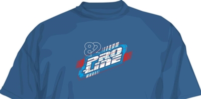 Pro-Line Energy T-Shirt, Blue - Medium