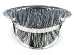 US Navy Cap Accessory: Rain Cover - Clear With Visor